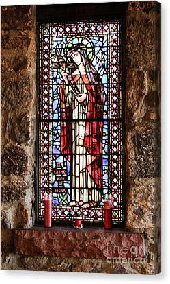 St. Catherine Of Siena Canvas Print by Lynn Sprowl