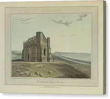 St Catherine's Chapel Canvas Print