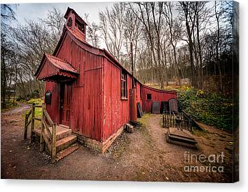 St Chads Tin Tabernacle Canvas Print by Adrian Evans