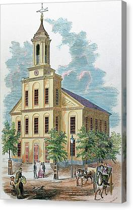 St Charles' Church Boston Canvas Print by Prisma Archivo