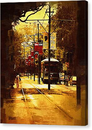 St Charles Run Canvas Print by Kirt Tisdale