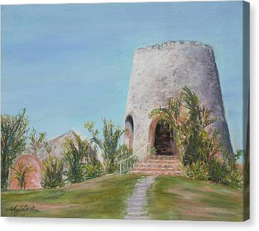 St. Croix Sugar Mill Canvas Print