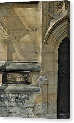 St. Cross College Canvas Print by Joseph Yarbrough