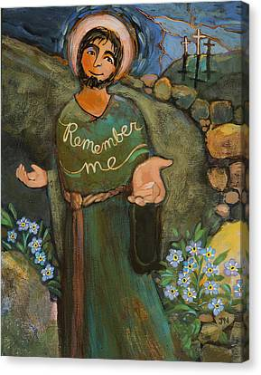 St. Dismas Canvas Print by Jen Norton