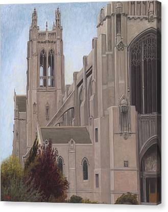 Saint Dominic Canvas Print - St. Dominic's Cathedral by Terry Guyer
