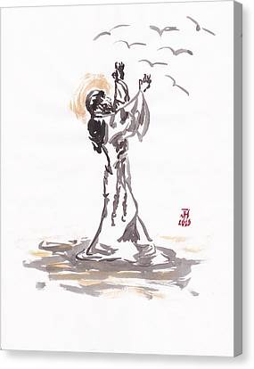 St. Francis 2 Canvas Print by Jason Honeycutt