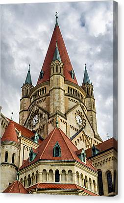 St. Francis Of Assisi Church In Vienna Canvas Print