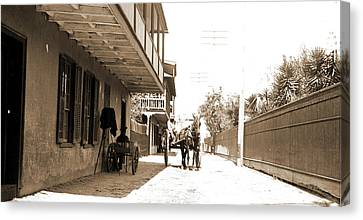 St George Canvas Print - St. George Street by Litz Collection