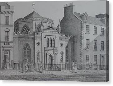 St Georges Chapel Edinburgh Canvas Print