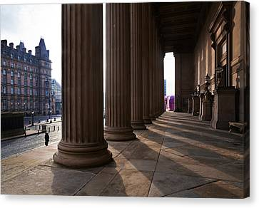 St Georges Hall, Lime Street Canvas Print by Panoramic Images