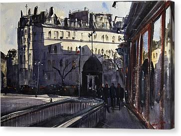 St Germain Des Pres Canvas Print by James Nyika