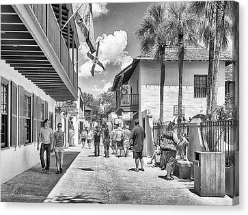 Canvas Print featuring the photograph St. Geroge Street by Howard Salmon