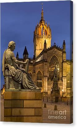 St Giles Cathedral Edinburgh Canvas Print by Brian Jannsen