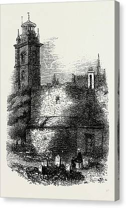 St. Giless, Cripplegate Canvas Print by Litz Collection
