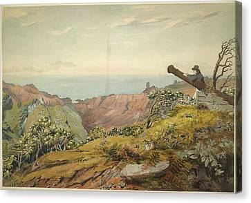 St. Helena Canvas Print by British Library
