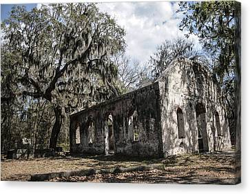 St Helena Chapel Of Ease 1  Canvas Print by Steven  Taylor