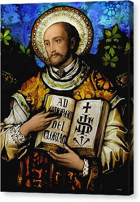 St. Ignacius Of Loyola Canvas Print
