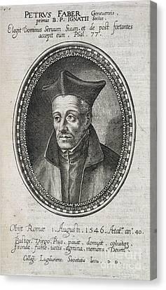 St. Ignatius Loyola Canvas Print by British Library