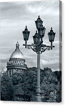 Skylight Canvas Print - St Isaac Cathedral by Elena Nosyreva