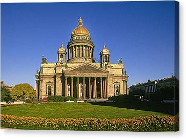 Cristian Church Canvas Print - St. Issac's Cathedral by Buddy Mays