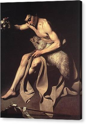 St John The Baptist Canvas Print by Celestial Images