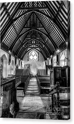 St John Ysbyty Ifan Canvas Print by Adrian Evans