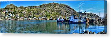 St. John's Battery Panorama Canvas Print by Steve Hurt