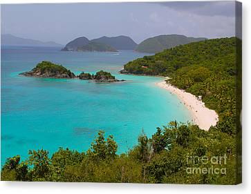 British Virgin Islands Canvas Print - St Johns by Carey Chen