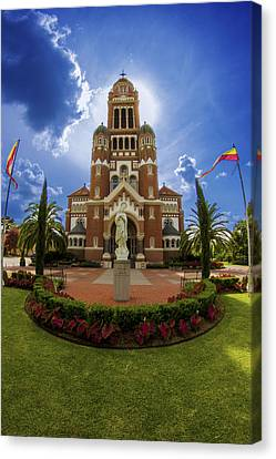 St Johns Cathedral Canvas Print by Madison Baltodano