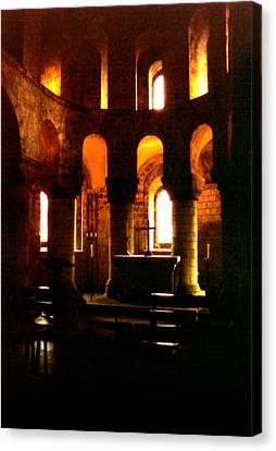 St. John's Chapel In The Tower Of London Canvas Print