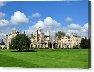St. John's College Cambridge Canvas Print by Matthew Chapman