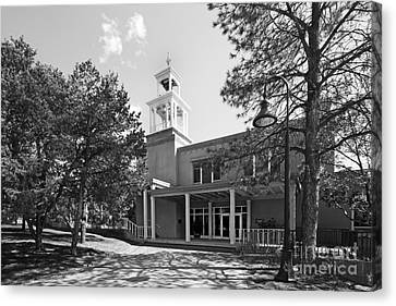 St. John's College Santa Fe Weigle Hall Canvas Print by University Icons