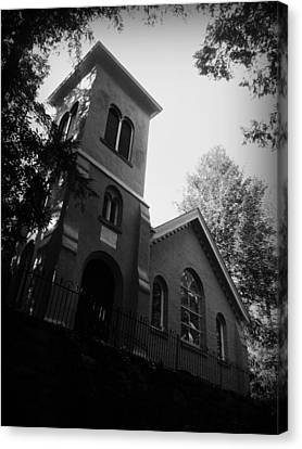St Johns In The Wilderness Flat Rock Nc Canvas Print