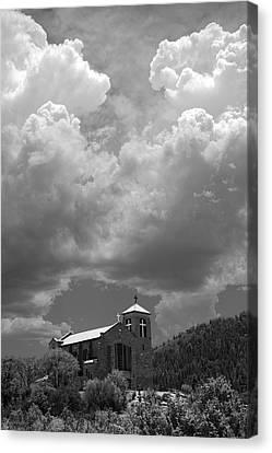 St Joseph Church Mescalero New Mexico Canvas Print by Mark Goebel