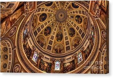 St. Josephat Dome Canvas Print by David Bearden
