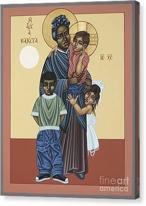 St. Josephine Bakhita Universal Sister 095 Canvas Print by William Hart McNichols