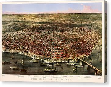 St Louis 1873 Canvas Print