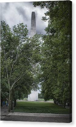 Canvas Print featuring the photograph St Louis Arch by Lynn Geoffroy