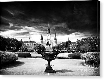 St. Louis Cathedral Canvas Print by John Rizzuto