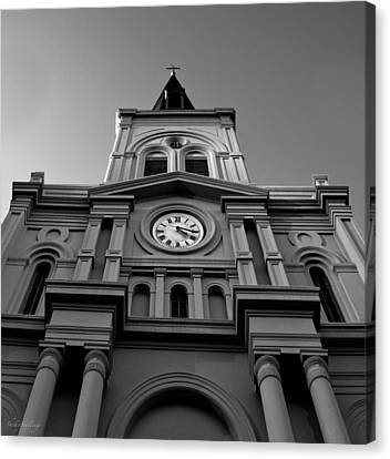 St. Louis Cathedral Perspective Canvas Print by Shelly Stallings