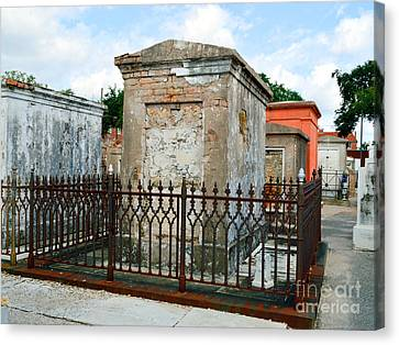 St Louis Cemetery 1 Canvas Print by Alys Caviness-Gober