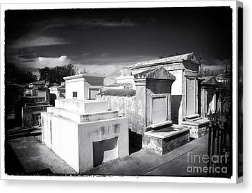 St. Louis Cemetery #1 Canvas Print by John Rizzuto