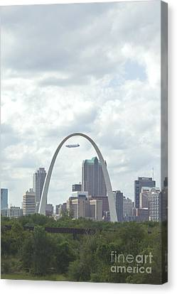 St. Louis Cityscape Canvas Print by Kay Pickens