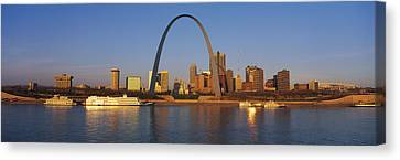 St. Louis Skyline Canvas Print by Panoramic Images
