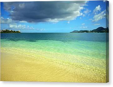 St. Maarten Tropical Paradise Canvas Print