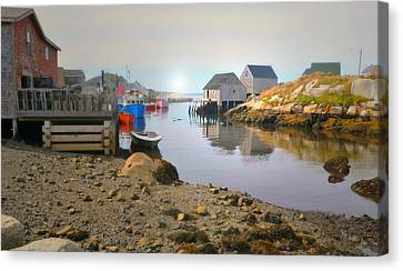 St. Margarets Bay Canvas Print by Diana Angstadt