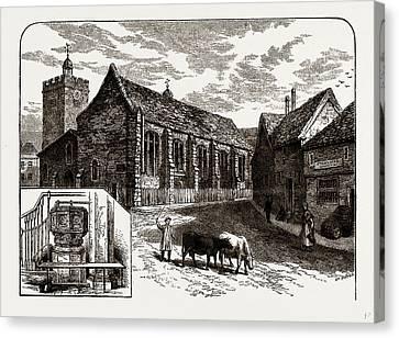 St. Margarets, Uxbridge, Uk Canvas Print by Litz Collection