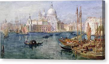 St Maria Della Salute Venice Canvas Print