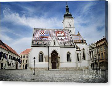 St. Mark's Church Canvas Print by Jelena Jovanovic