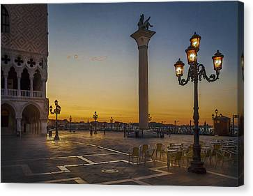St Marks Square Canvas Print